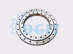 Single row four-point contact ball rotary ring