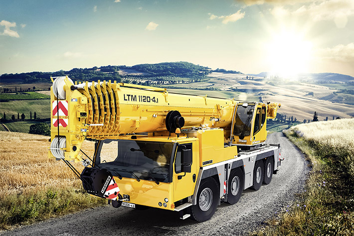 MAXIMUM LIFTING CAPACITY ON FOUR AXLES – LIEBHERR UNVEILS THE NEW LTM 1120 4.1 AT THE CONEXPO IN LAS VEGAS